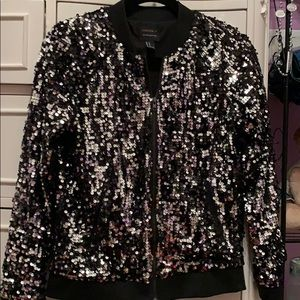 Black and silver sequins jacket (never worn)
